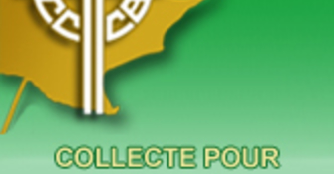Collecte pour les besoins de l'Église au Canada 2019 image