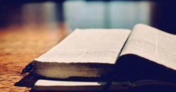 Bible Study / Cours biblique image