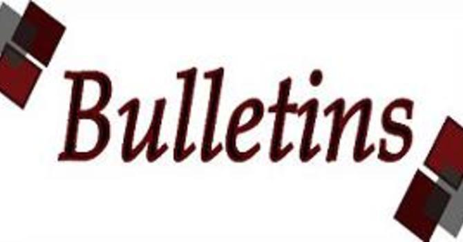 Bulletins image