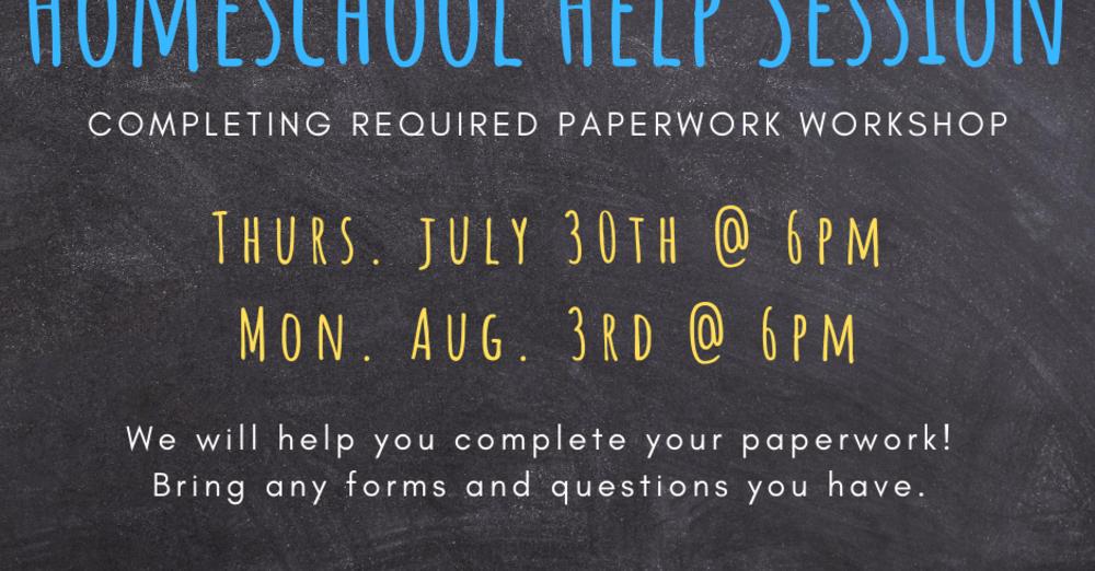 Homeschool Help Session
