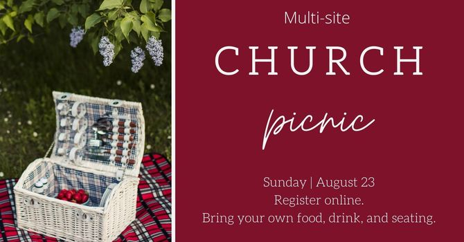 Multi-site Church Picnic