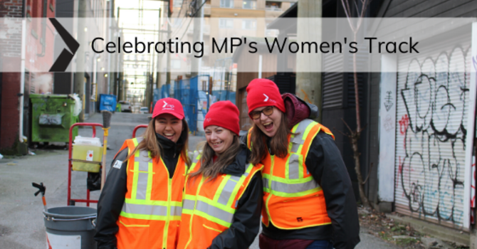 Celebrating MP's Women's Track image