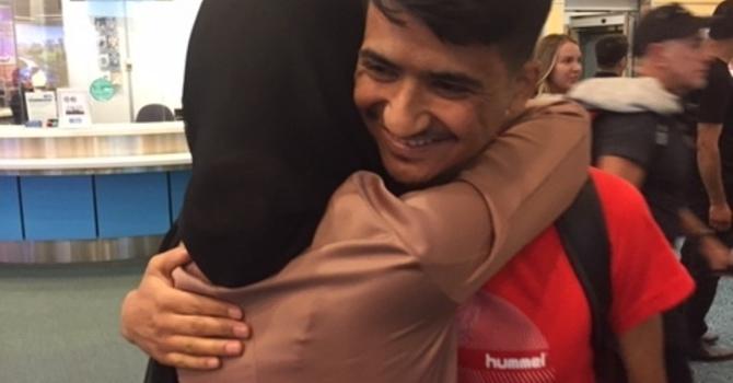 Nasrullah marks one-year milestone image