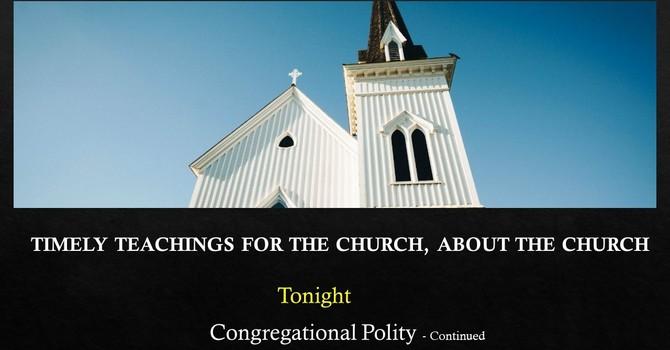 Congregational Polity