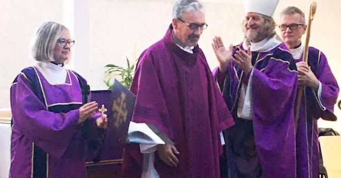 Receiving Fr. Hilling image