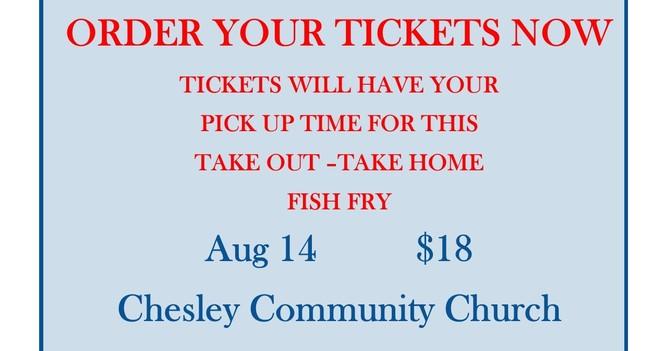 Take Out - Take Home Fish Fry