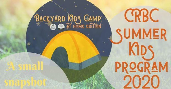 Backyard Kids Camp Recap