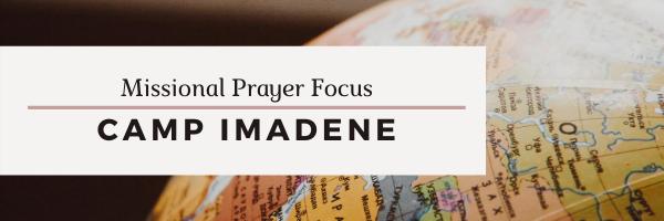 Missional Prayer Focus · August 2
