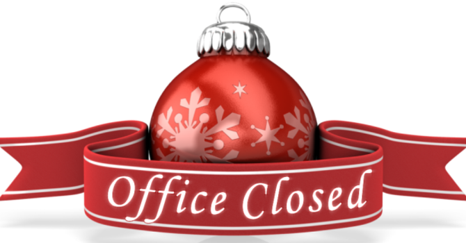 Office Closed for Christmas and New Year image