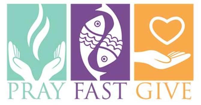 Congregational Lenten Prayer Practice image