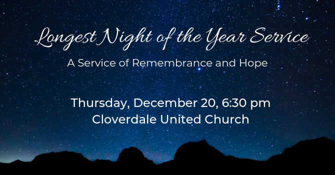 Longest Night of the Year Service image