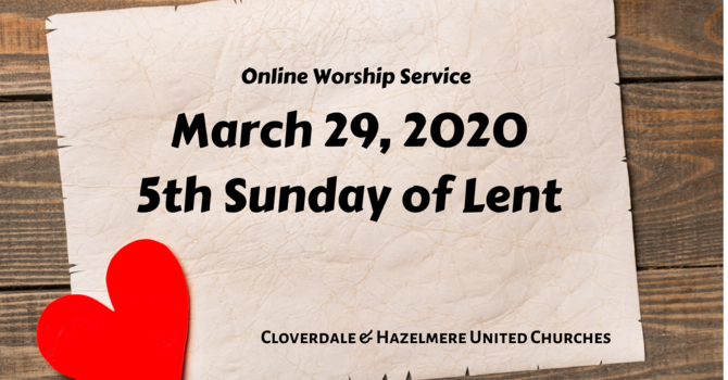 March 29 Worship Service image