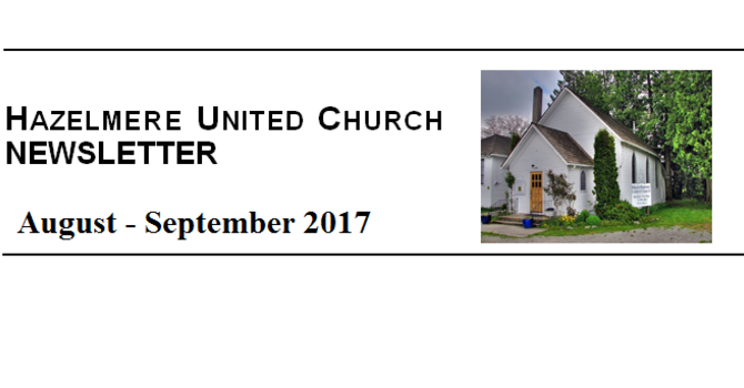 Newsletter: Aug-Sept 2017 image