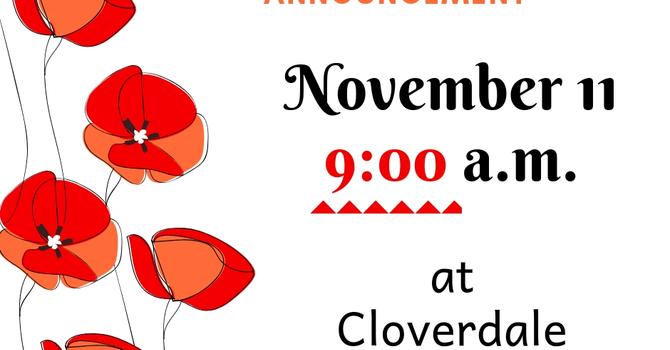 Important Notice on November 11 Worship image