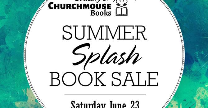 Summer Splash Book Sale