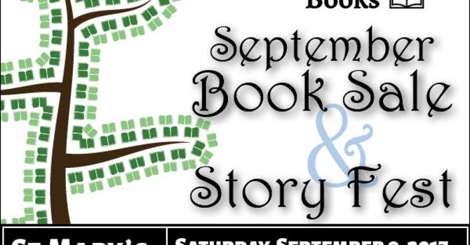 September Book Sale & Story Fest
