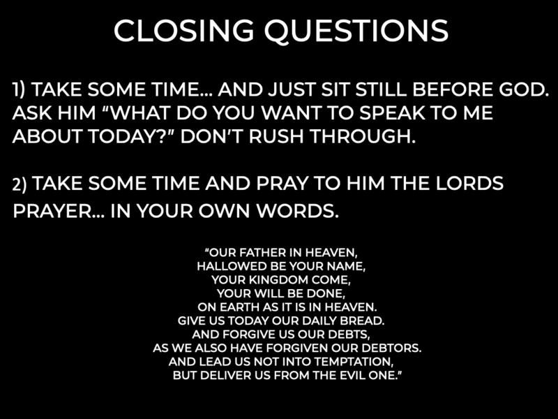 Renewed Prayer