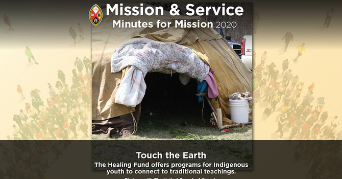 Minute for Mission: Touch the Earth image