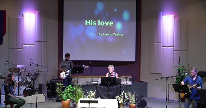 His Love - Larissa Trainer