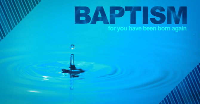 Baptism & Lord's Supper image