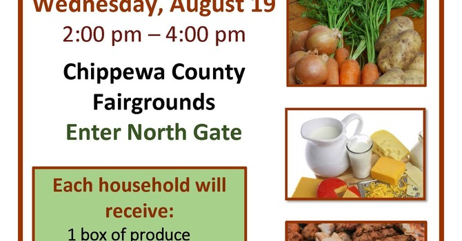 FREE Food Distribution for Chippewa County residents