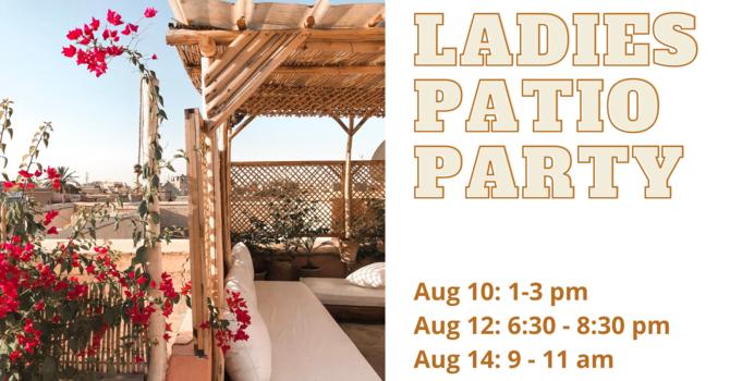 Ladies Patio Party