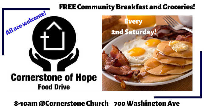 Community Breakfast & Grocery Giveaway