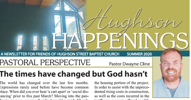 Hughson Happenings Newsletters image