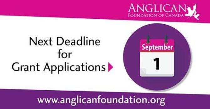 Anglican Foundation Application Deadline