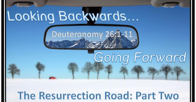 Looking Backward Going Forward