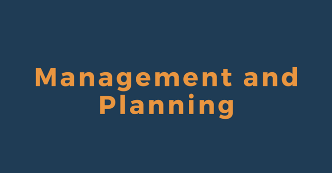 Management and Planning
