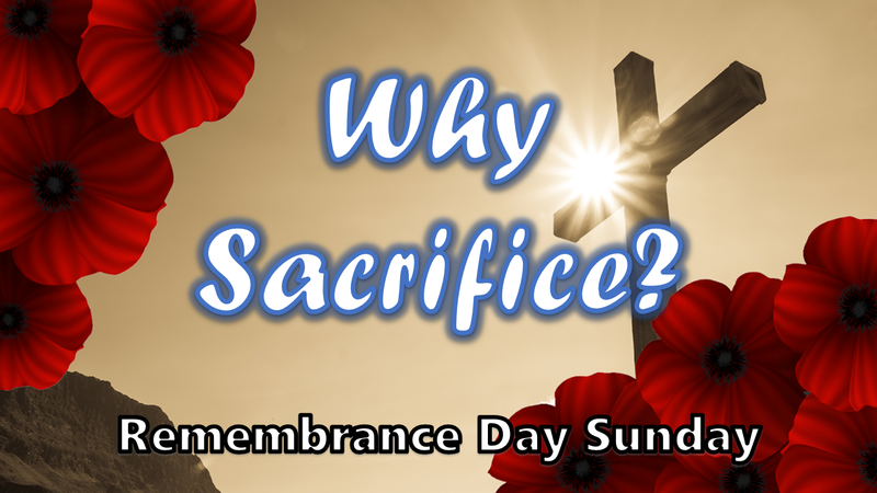 Why Sacrifice?