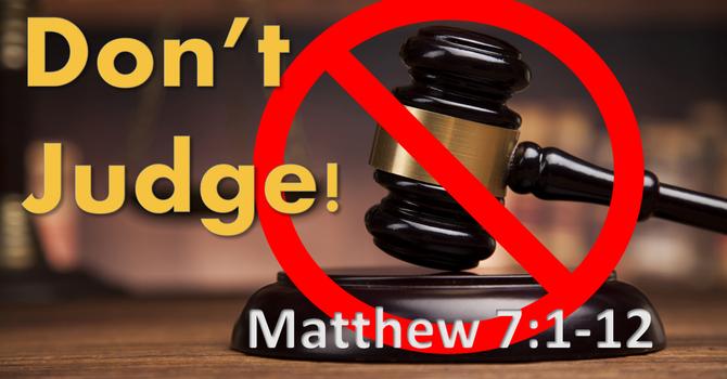 Judge Not