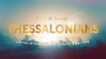 Living in Light of Christ's Return