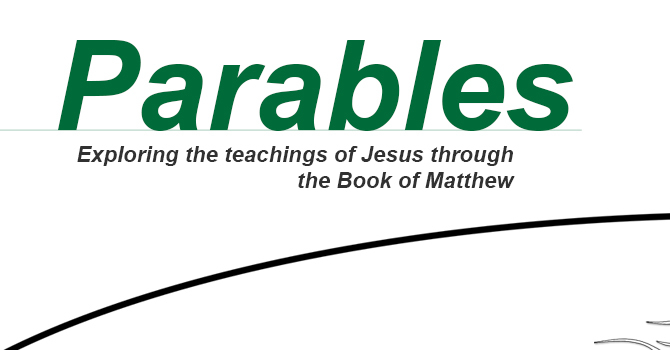 New Series: Parables image