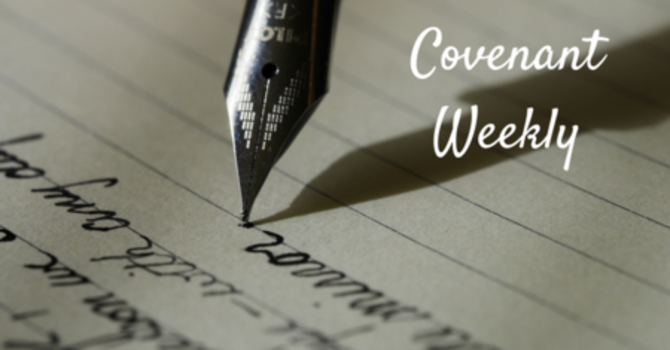 Covenant Weekly - November 8, 2016 image