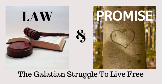The Galatians struggle to live free