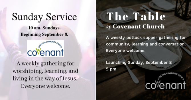 Sunday Gatherings Announcement image