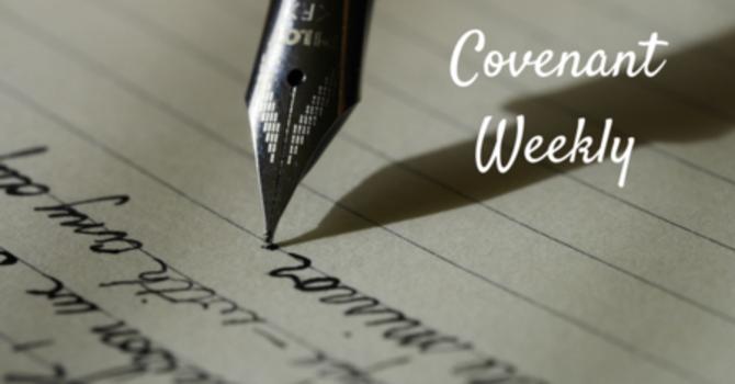 Covenant Weekly - November 1, 2016 image