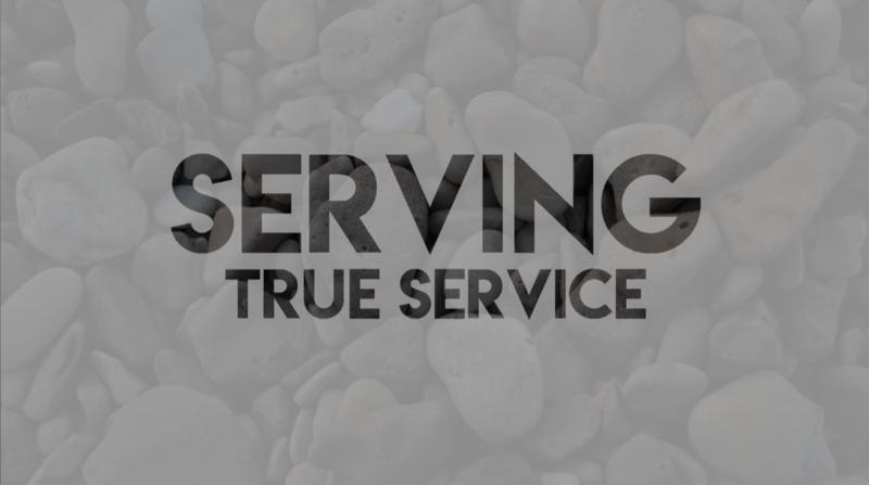 Serving - True Service