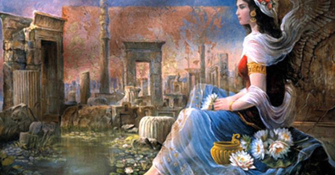 A Wakeup Call for the Queen of Persia  image