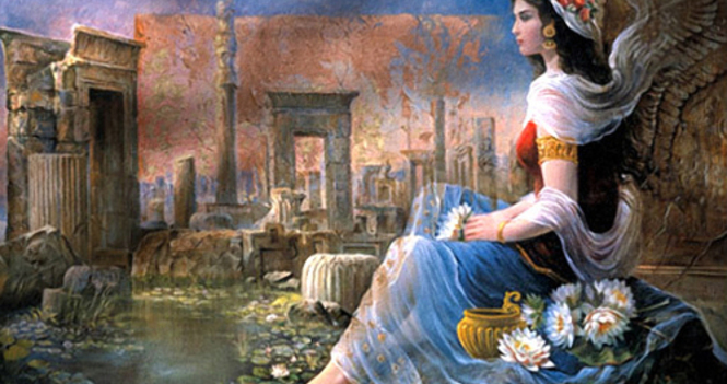 A Wakeup Call for the Queen of Persia