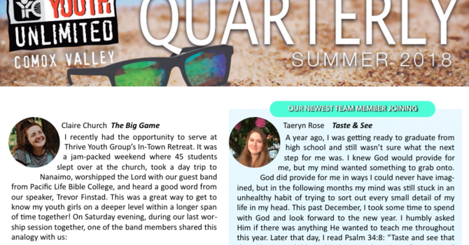 Quarterly | Summer 2018 image