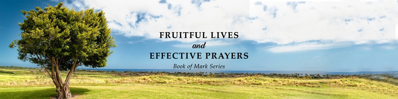 Fruitful Lives and Effective Prayers