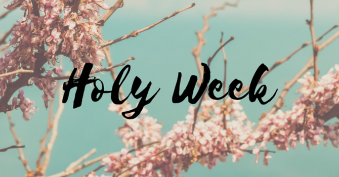 Holy Week 2017 image