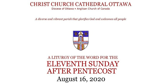 Online service for the Eleventh Sunday after Pentecost