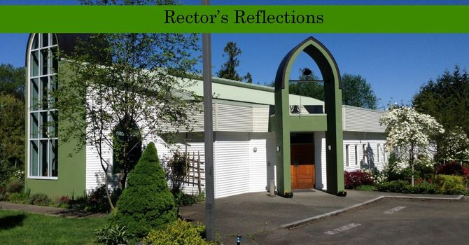 9 August - Rector's Reflections
