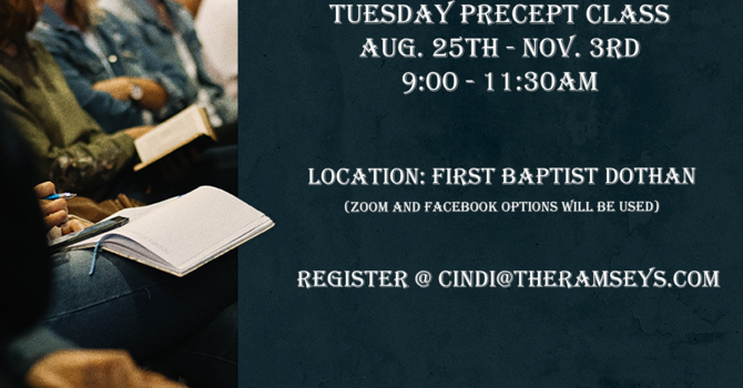 Tuesday Precept Bible Study