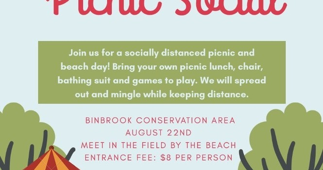 Chedoke Church's 2020 Picnic Social