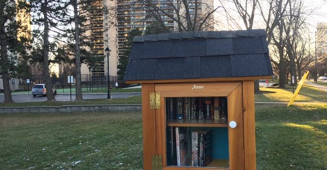 Little Free Library for the neighbourhood! image